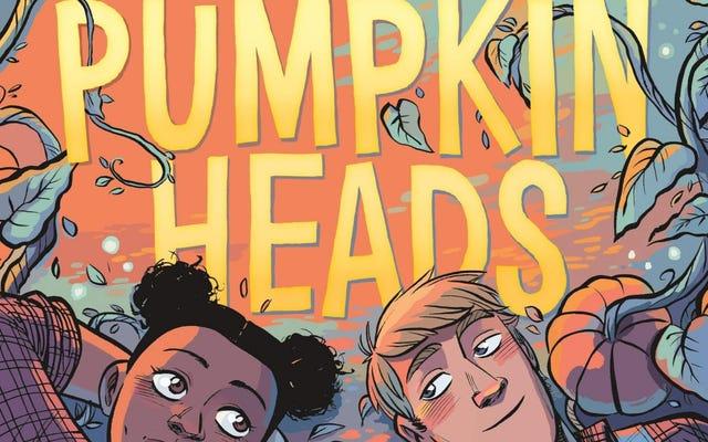 Pumpkinheadsは、秋、YA、ロマンスのファンに甘くて親しみやすい楽しみを提供します