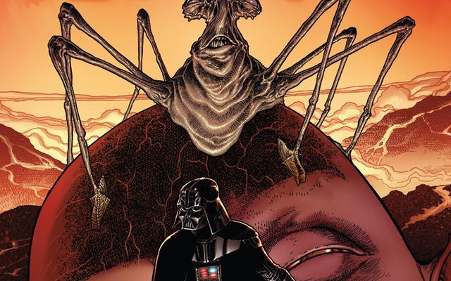 マーベルのダースベイダーコミックは、ムスタファーの神秘的なスカイウォーカーシャドウの台頭に基づいて構築されています