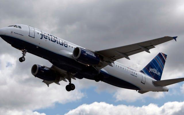 นักบินของ JetBlue ถูกกล่าวหาว่าเสพยา, ข่มขืนผู้หญิงพนักงานต้อนรับบนเครื่องบิน