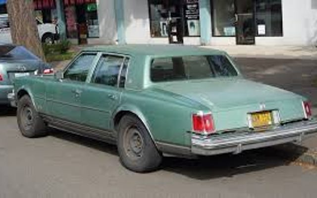 More on that Cadillac Seville I was looking for earlier