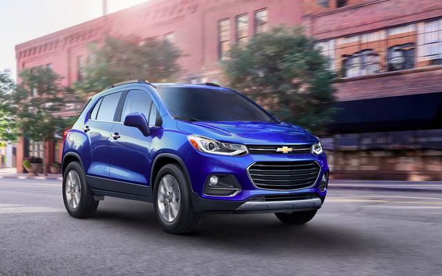 La Chevrolet Trax 2017 aggiornata risolve solo uno dei suoi numerosi difetti