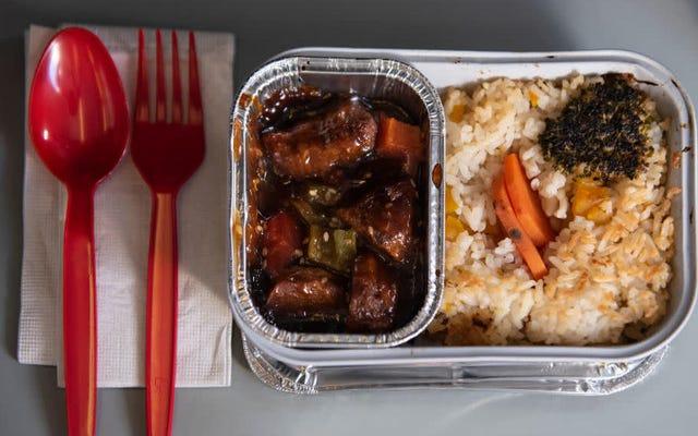 Возможно, авиакомпании не создают смелую, дальновидную кухню, о которой мы мечтали [Обновлено]