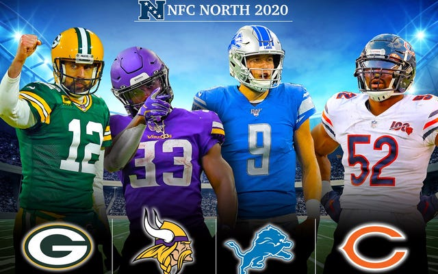 Pratinjau NFL Deadspin 2020, NFC Utara: The 'No One Else Wanted to Preview This Stale Division' Division