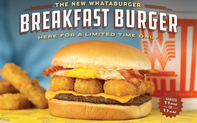 Une autre dépêche des guerres du petit-déjeuner de restauration rapide