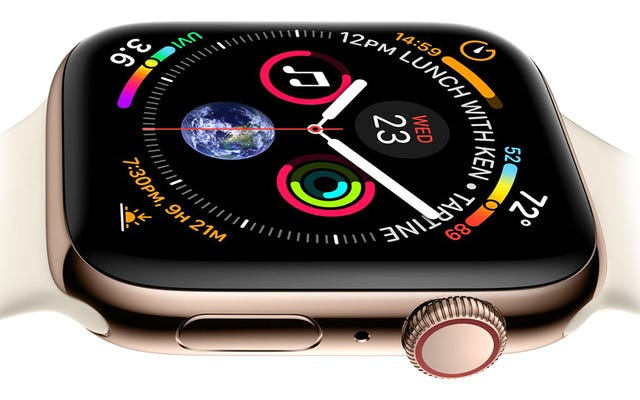 Apple Watch Series 4: nouveau processeur, écran plus grand et capteurs sportifs améliorés