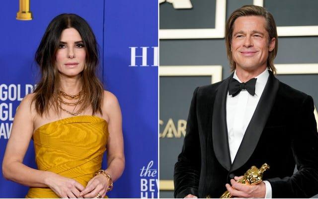 Birlikte hiç film yapmamış olan Sandra Bullock ve Brad Pitt birlikte film çekiyorlar.