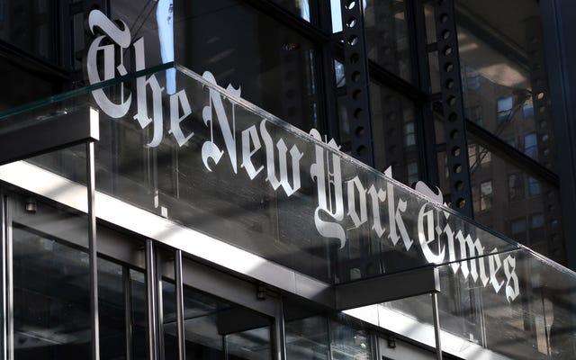 'New York Times', Onları Alakasız Olarak Tanımlayan Yorumcuyu Teşhir Eden 8 Bölümlü Podcast Serisini Yayınladı