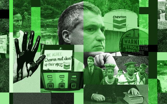 Chevron пытается сокрушить известного юриста по климату - и, возможно, весь мир