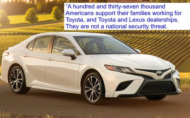 Toyota Mengklarifikasi 137.000 Pekerjanya di AS Bukan Ancaman Keamanan Nasional Sebagai Tanggapan Atas Tarif yang Diusulkan Trump