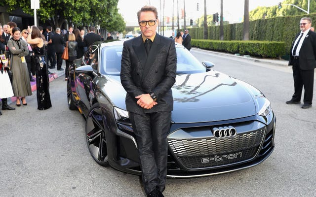 Mengapa Audi E-Tron GT Listrik Dari Avengers: Endgame Tidak Terdengar Seperti Mobil Listrik