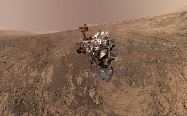 L'ultima scoperta di Curiosity indica che Marte era abitabile 3,5 miliardi di anni fa