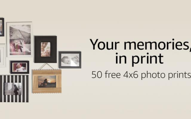 अमेज़न के सौजन्य से, अभी के लिए अपने पसंदीदा फ़ोटो के प्रिंट 50 पर जाएं