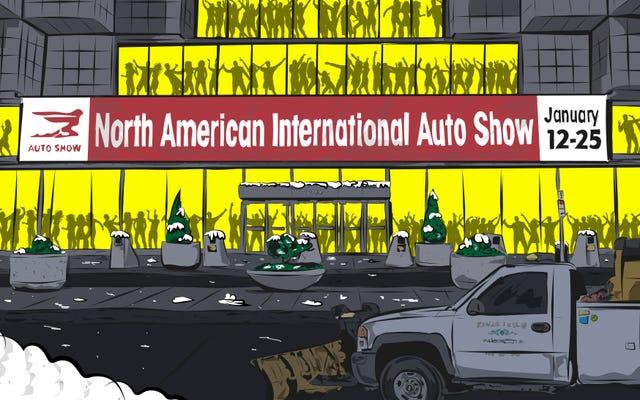 Tout ce qui est horrible à propos du Salon de l'auto de Detroit