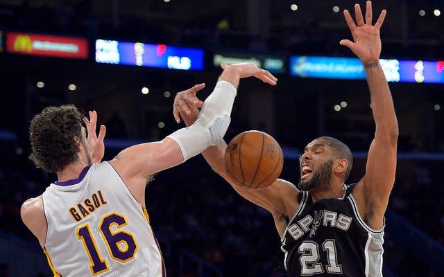 Raporlar: Spurs Pau Gasol İmzalıyor ve Tim Duncan Muhtemelen Emekli Oluyor
