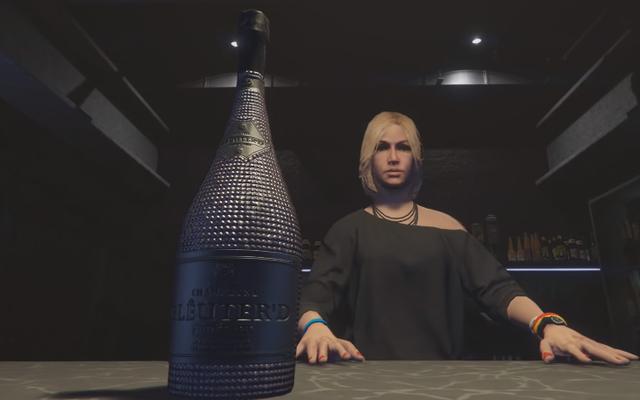 GTAオンラインには、キャラクターを酔わせることによってのみ見つけることができるイースターエッグがあります
