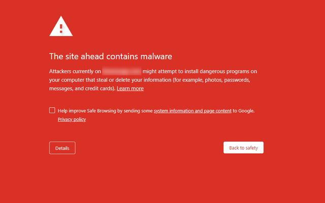 このChrome拡張機能を使用して疑わしいサイトをGoogleに報告する