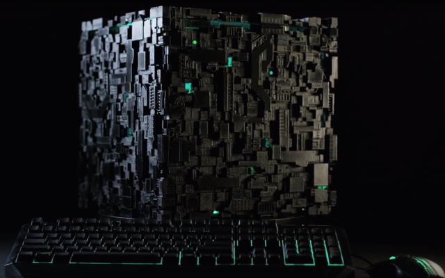 C'est le PC de bureau que les Borg utiliseraient, probablement