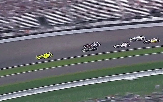 Rubbin non corre nella 500 Miglia di Indianapolis quando un'auto si schianta contro il muro
