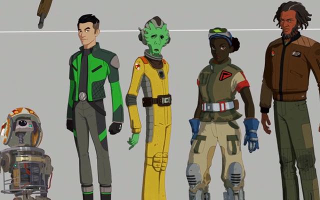 พบกับ Oddball Heroes of Star Wars Resistance