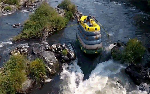 デアデビルは、急流下りをさらに危険なものにする方法を見つけました