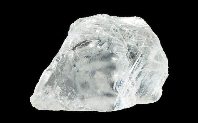 Viên kim cương nhỏ này chứa một loại khoáng chất chưa từng thấy trên bề mặt Trái đất.