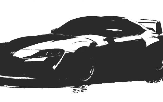 टोयोटा रेसिंग डेवलपमेंट विल सुप्रा 3000GT कॉन्सेप्ट, अगले महीने बड़े पैमाने पर विंग करेगी