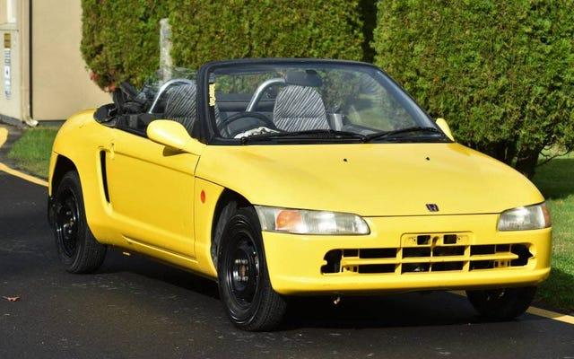 ホンダビート、ファイアエアロトライク、フォードトーラスSHO:オンラインで販売されている最悪の車