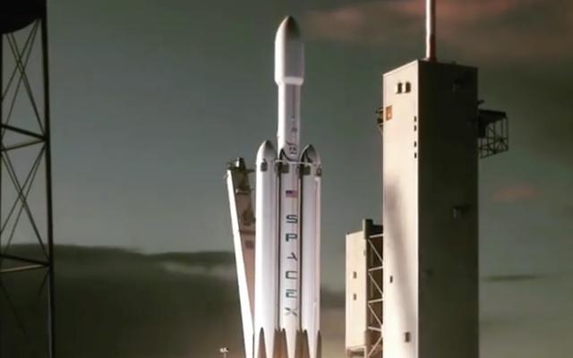 Cool Guy Elon Musk przypadkowo upuszcza animację najpotężniejszej rakiety świata