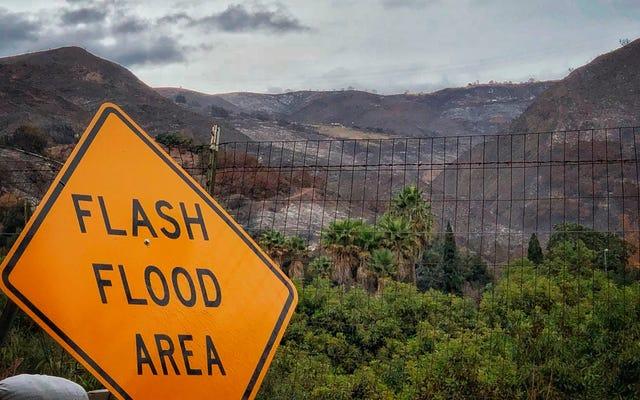 Les glissements de terrain sont le dernier danger apocalyptique de la Californie