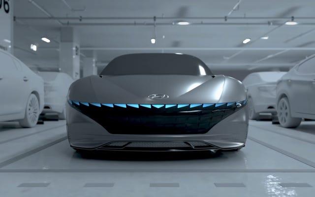 Hyundai ha dato alla sua concept car un sacco di funzioni che non puoi ancora acquistare
