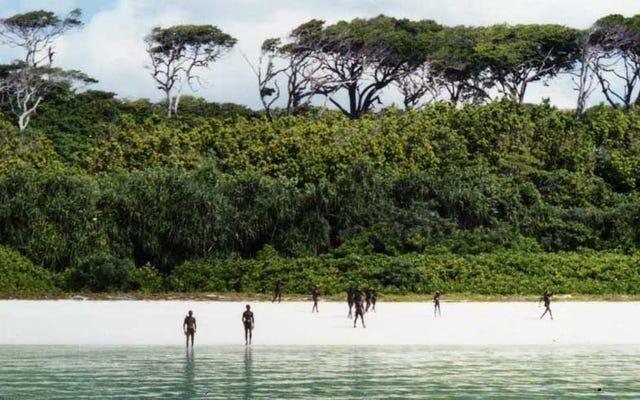 見知らぬ人が見たときに攻撃されることが知られている禁断の島に入る。彼らは彼を殺します