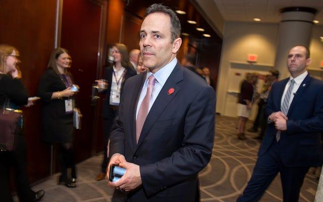 El gobernador de Kentucky está tratando de cerrar la última clínica de abortos del estado