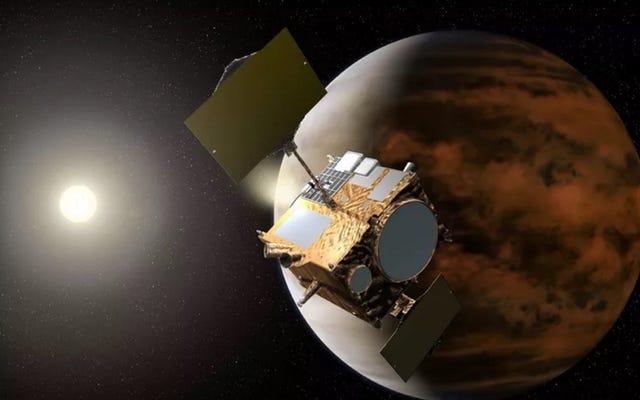 日本のあかつきプローブは5年の損失の後金星を研究する準備ができています