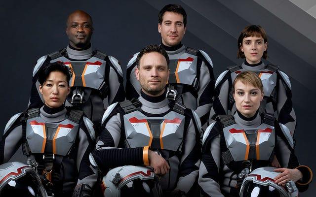 人類はついにロンハワードの新しいハーフSF、ハーフドキュメンタリーTVシリーズで火星に旅します