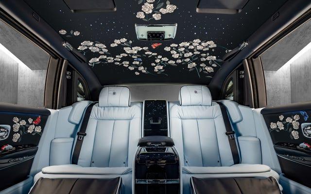 OK, cet intérieur brodé Rolls-Royce à un million de points est légitimement magnifique