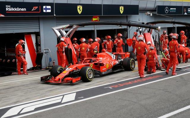 フェラーリがキミライコネンのイタリアGPチャンスを殺した