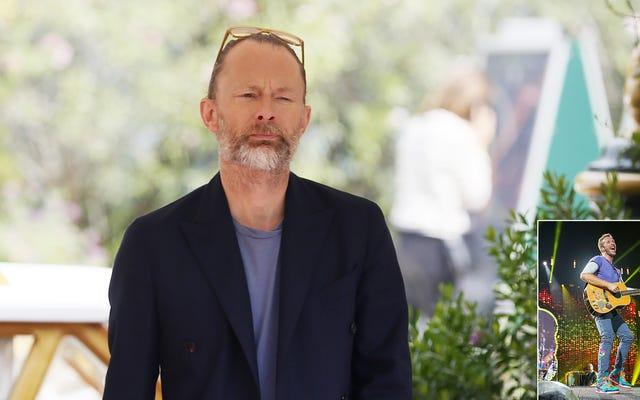 Thom Yorke, Müzik Çıktısının Büyük Çoğunun Coldplay Tarafından Bir Kademeli Olma Korkusuyla Beslendiğini Kabul Etti