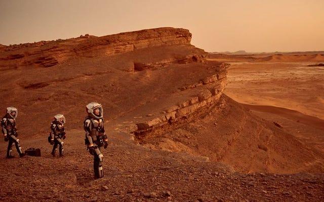 2つの世界に住むという使命で、火星は不十分です