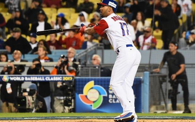 出塁率の高いランナーとの追加イニングの開始