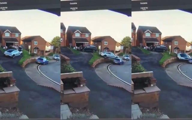 Qui è tutto sbagliato con la Porsche Taycan in un incidente [Aggiornamento]