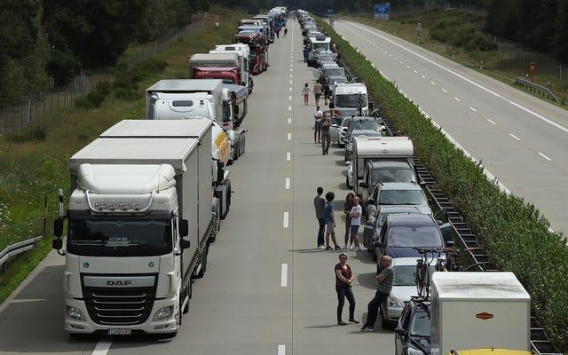 ผู้เชี่ยวชาญด้านสภาพภูมิอากาศกำหนดเป้าหมายไปที่ Autobahn ไม่ จำกัด รัฐบาลของเยอรมันจะไม่ยอมแพ้
