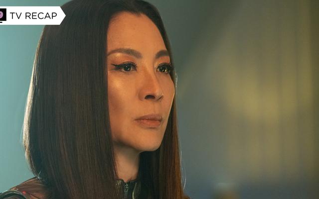 Michelle Yeoh ofrece Star Trek: Descubrimiento de lo mejor que no ganó