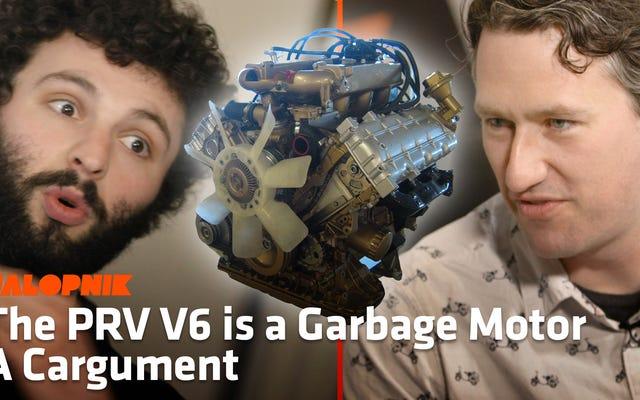 PRV V6が史上最高のエンジンだと思いますか?オンラインで狂う準備をしなさい