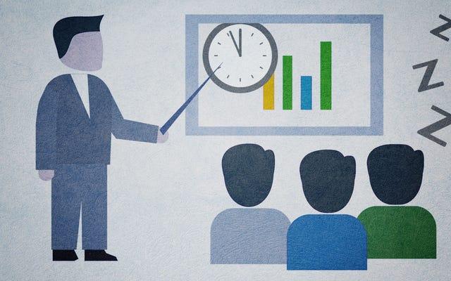 集中力を維持し、長い会議に参加する方法