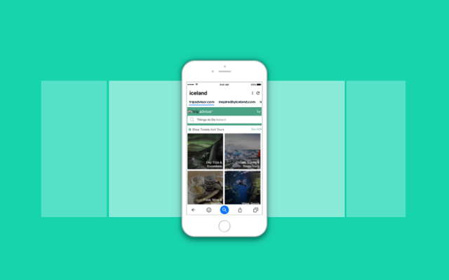 इस नए मोबाइल ब्राउज़र के साथ तेजी से खोजें