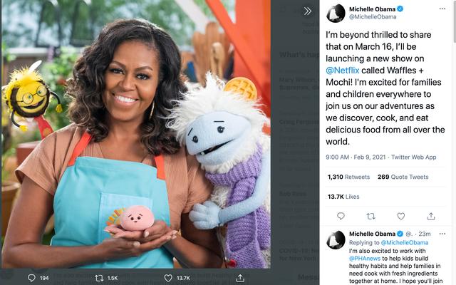 शायद मिशेल ओबामा अमेरिका के बच्चों को उनकी सब्जियां खाने के लिए पा सकते हैं