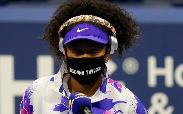 Maski BLM Naomi Osaki to nie tylko protest, to przyszłość