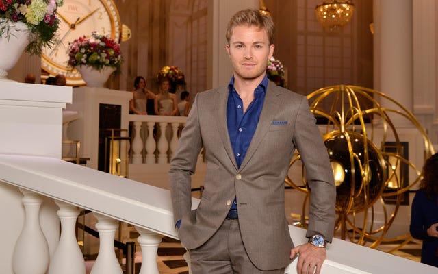 Nico Rosberg แชมป์ F1 คิดว่า 'ของขวัญจากธรรมชาติ' ของเขาในการขับรถแข่งคือพันธุกรรม