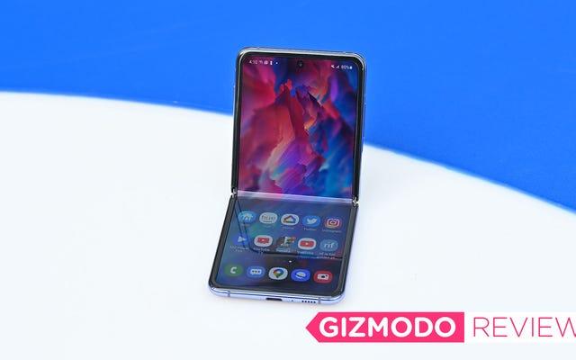 Le Samsung Galaxy Z Flip est le premier téléphone pliable qui mérite d'être pris en charge