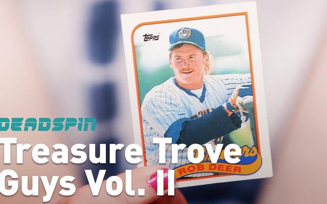 Mari Ingat Beberapa Orang, Kartu Bisbol Acak Treasure Trove Volume II